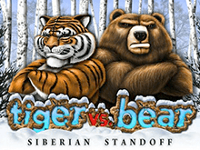 Tiger Vs Bear от Microgaming в азартных аппаратах казино Вулкан Вегас